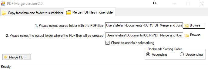 Select Folder Paths